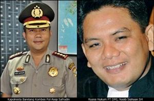 Kapolresta Barelang Asep Safrudin/ist
