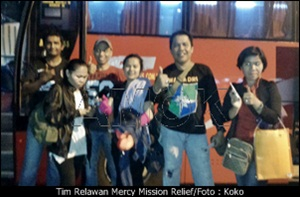 Tim Relawan Mercy Mission Relief/Koko
