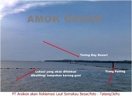 Dendi Purnomo : Reklamasi Pantai di Batam ada 30 Titik