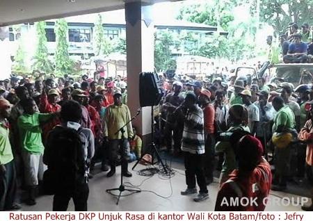 Gaji dan THR Belum Keluar, Pekerja DKP : Kami Perlu Uang untuk Biaya Makan