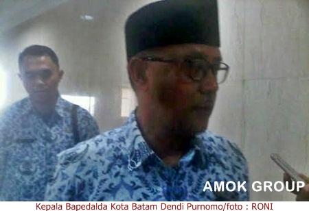 Kepala Bapedalda Kota Batam Dendi Purnomo