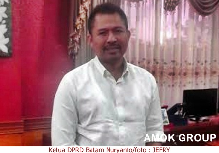 Ketua DPRD Batam Nuryanto