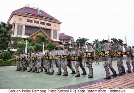Satpol PP kota Batam