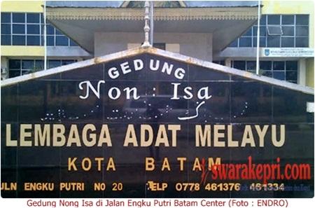 Gedung Nong Isa Batam Makin Memprihatinkan