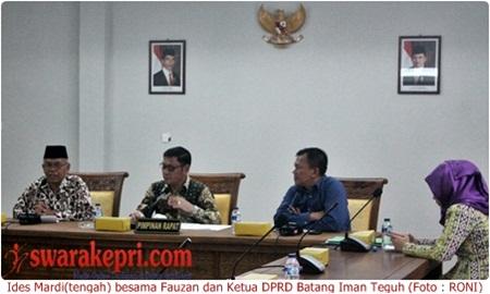 DPRD Kabupaten Batang Kunker ke Batam