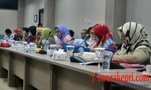 Perwakilan 17 Puskesmas Ikuti Rapat Banggar DPRD Batam
