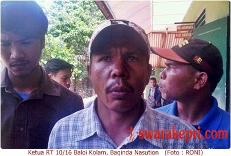 Tiga Korban Bentrok Baloi Kolam Lapor ke Denpom