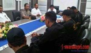 Perwakilan Satpol PP Bertemu Wali Kota Batam