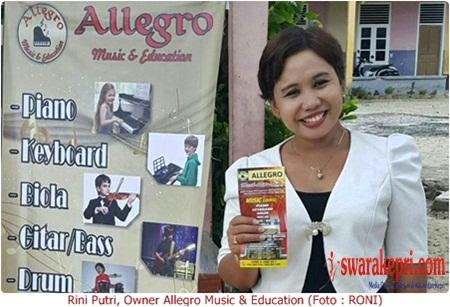 Rini Putri, Owner Allegro Music & Education