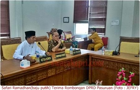 Safari Ramadhan Terima Rombongan DPRD Pasuruan