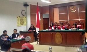 Sidang pembacaan vonis terdakwa Timbone Lala di Pengadilan Negeri Batam