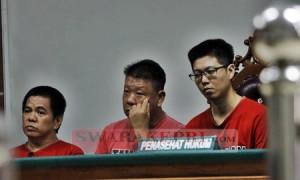 Tiga Terdakwa Kasus Narkotika dan TPPU Money Changer Jaya Valasindo